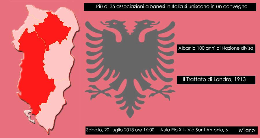 ALBANIA 100 Anni di Nazione Divisa