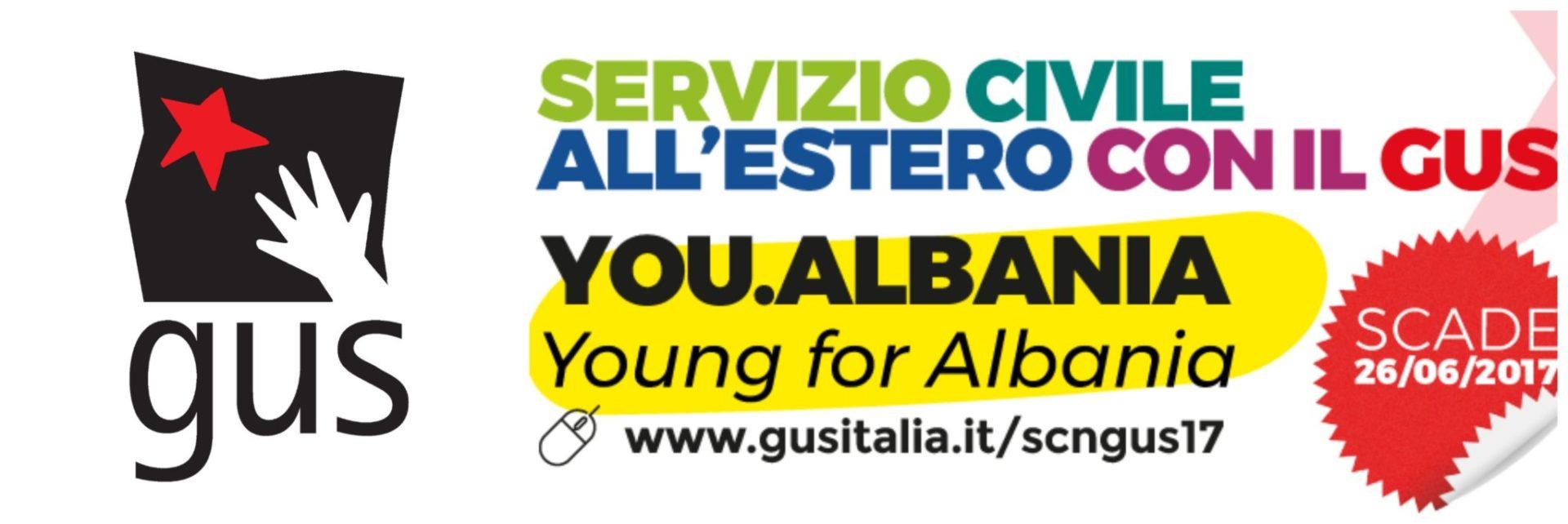 SERVIZIO CIVILE NAZIONALE ALL'ESTERO, IN ALBANIA