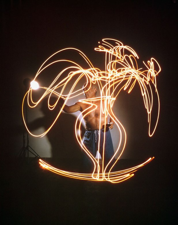 Gjon Mili Pablo Picasso 12