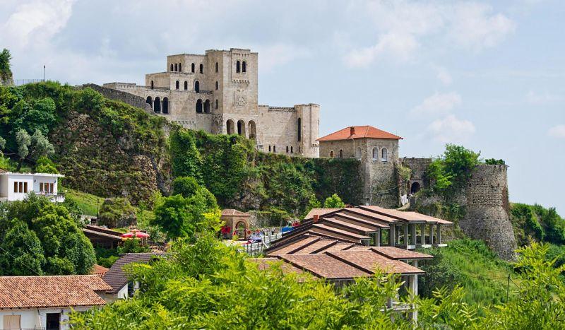 Kruja (Croia), Albania