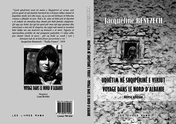Copertina della versione albanese del libro
