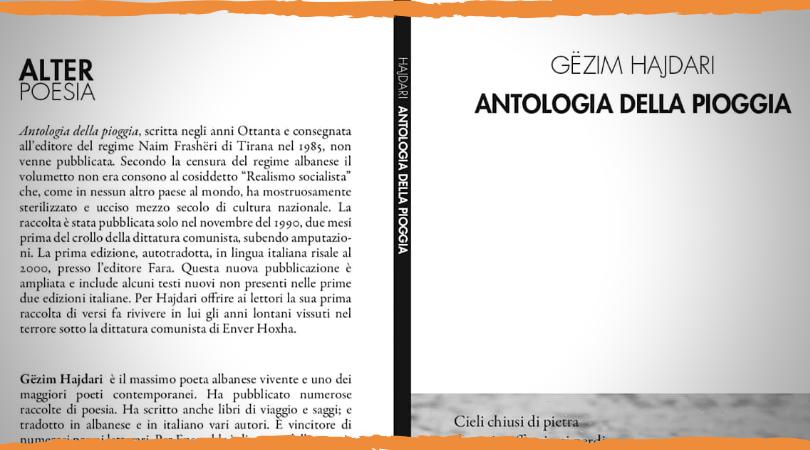 Antologia Della Pioggia Di Gëzim Hajdari