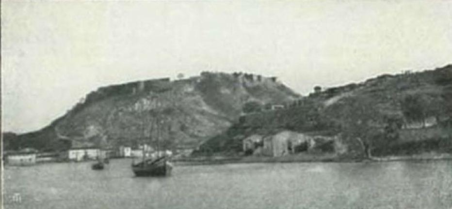 Shkoder Scutari - La fortezza e l'imboccatura della Boiana, Albania
