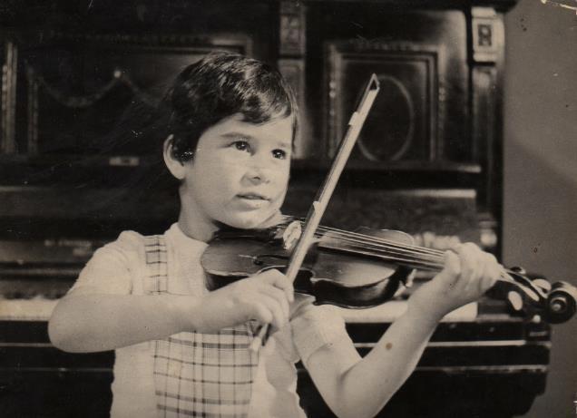 Olen Çezari në moshën katër vjeç