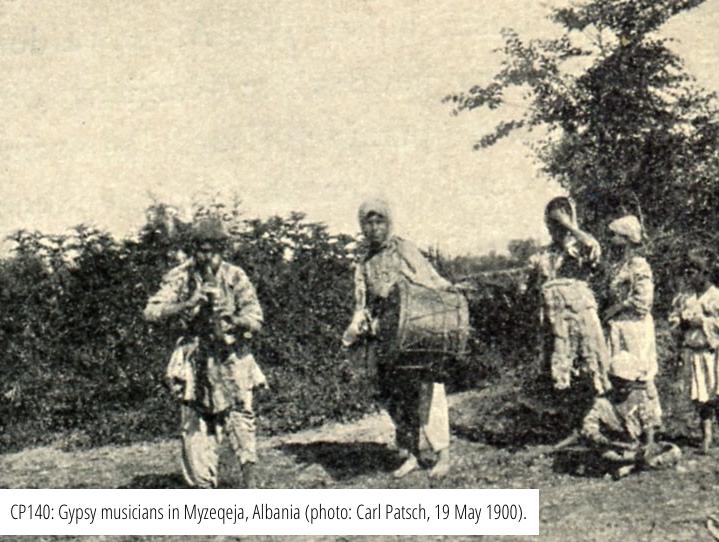 Musicisti zingari in Myzeqeja