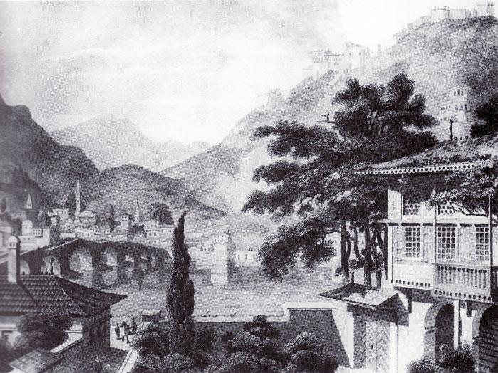 Berat, vizatim nga C. Cockerell, 1813