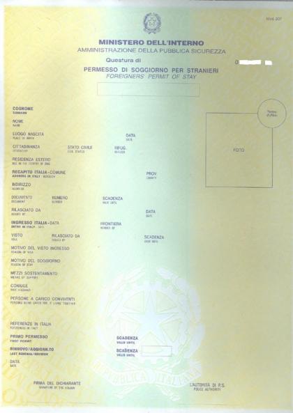 Il permesso di soggiorno come mappa e bussola gli for Immigrazione permesso di soggiorno